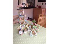 Sylvanian families windmill and nursery garden