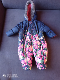 Mothercare Pramsuit 6-9 months