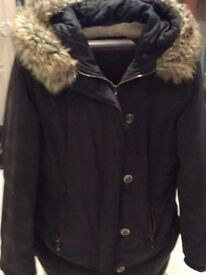 Ladies Next Black Coat Size 14