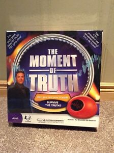 The Moment of Truth electronic game --unopened.  Similar to TV Kitchener / Waterloo Kitchener Area image 1