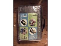 Willi lili portable booster seat for baby, change mat, trolley seat