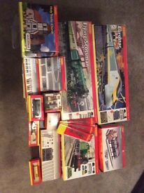 Hornby model railway sets and accessories - Immaculate condition. All boxed