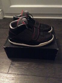 Air Jordan Flight Club 90 Black/Gym Red - Size 9