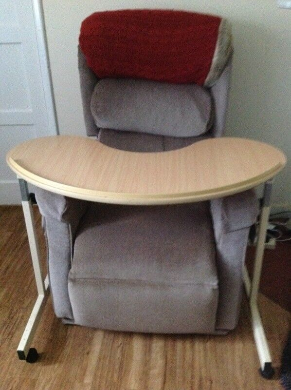 Moon shaped disability table (chair not included) | in Banbury ...