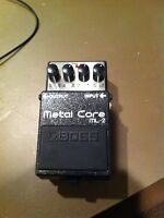 Boss Metal Core Distortion Pedal