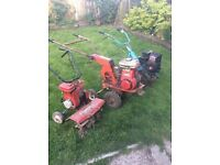 Three petrol rotavaters for Spares or repairs