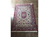 Persian style wool rug