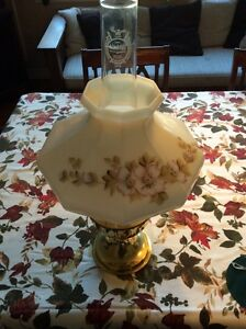 New Aladdin Model 23 Brass Oil Lamp