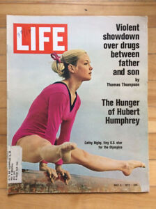 LIFE Magazine May 5, 1972 - Cathy Rigby, Quilting
