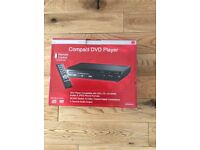 Duraband compact new DVD player with remote