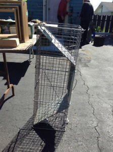 Animal Cage, Safety Catcher Trap  Door Safety
