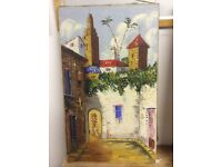 Antique old oil painting Spain £80