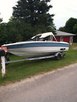 MUST SELL 1986 19FT BOWRIDER, MOTOR AND TRAILER