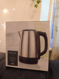 Unopened kettle from Tesco
