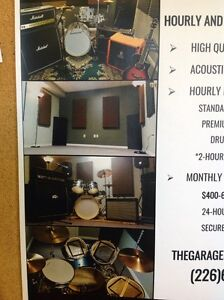 LOTS OF PROFESSIONAL MUSIC / JAM SPACE AVAILABLE Cambridge Kitchener Area image 5