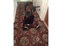 mobility walker.