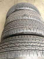 215/75R15 FIRESTONE DESTINATION LE2 TIRES (4) - MINT