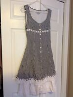 Black and white summer dress size 5