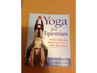 Yoga book for equestrians