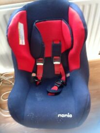 Car seat for a large baby to toddler