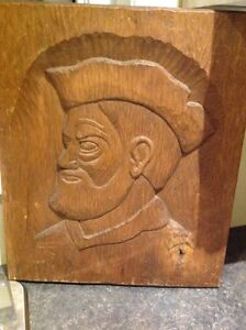 Folk art wood carving.  Check out my other ads.