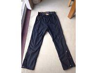 Genuine wax cotton Belstaff motorbike trousers