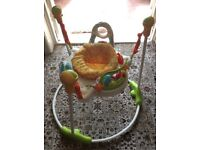 Baby jumper jumperoo jungle £35 ono