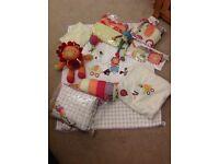 Mamas and Papas jamboree nursery bundle