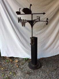 Vintage blacksmith weathervane