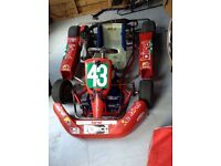 kadet 60 cc wtp go kart 2 stroke super fast 2 go karts