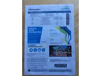 Black Sabbath Glasgow Ticket