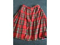 Kilt like skirt