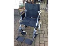 Push Along Wheelchair Very Good Condition