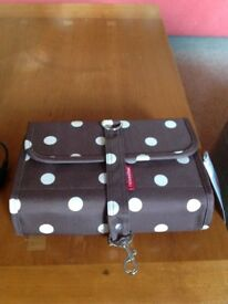 Wrap cosmetic/wash bag by Reisenthel.