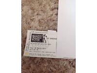 ED SHEERAN TUES 28th March Royal Albert Hall