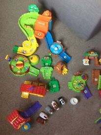 Used Toot Toot Animal play sets
