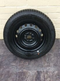 Michelin tyre and wheel 195/60 R15 (new)