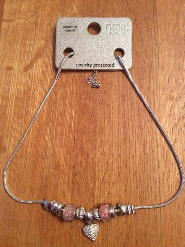 Next Pandora Style Charm Necklace New In East Craigs Edinburgh