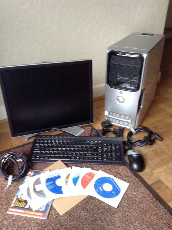 *FINAL REDUCTION * Dell Dimension E520 PC, 1907FP colour monitor, keyboard mouse and software