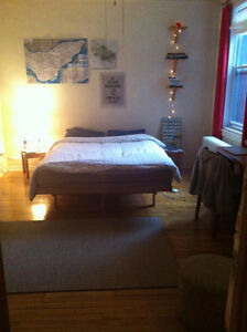 Very large room in fully furnished apartment - rent negotiable!