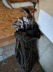 3 Sets of Golf Clubs