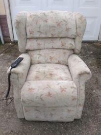 Duel Motor Rise And Recline Chair