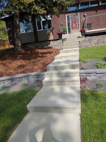 Concrete Work - Booking for Spring/Summer. FREE ESTIMATES