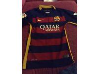 FC Barcelona replica top aged 10 years