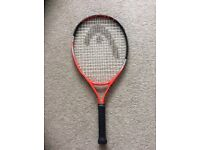 Head junior tennis raquet