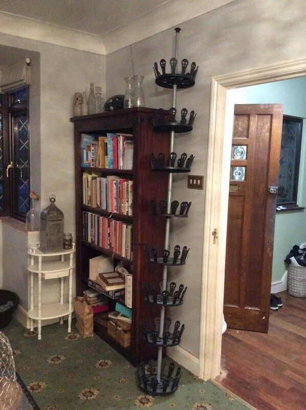 Shoe Rack Carousel Holds 48 Pairs Of Shoes Floor To Ceiling