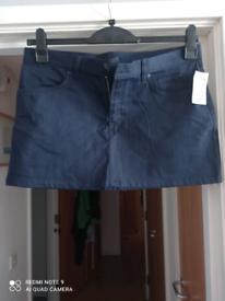 Brand New - Navy Mini Skirt