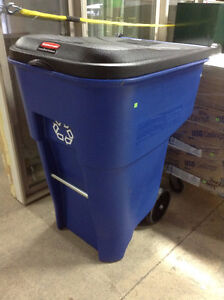 Brand New Rolling Recycling Bin