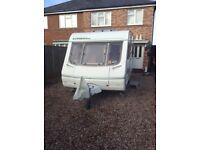 Swift utopia 500 caravan with fixed bed 2004 model