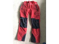 Gladiator ventilation chainsaw trousers